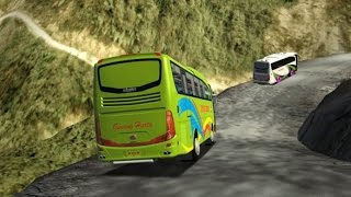 Bus Gunung Harta NGEBLONG hampir masuk Jurang!!!   UKTS