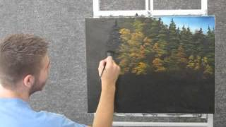 getlinkyoutube.com-Paint with Kevin Hill -  Autumn Road