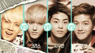 [FULL] EXO (엑소) - SK LTE CF (EXO vs EXO) Dance Battle Round