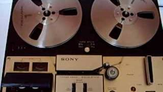 getlinkyoutube.com-Sony TC-350 Tape Deck Reel to Reel