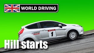 getlinkyoutube.com-How to do Hill Starts easily in a manual/stick shift car - learning to drive tips