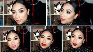 getlinkyoutube.com-Sephora Cream Lip Stain Swatches
