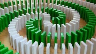 INSANE Domino Tricks! (Hevesh5 & MillionenDollarBoy)