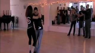getlinkyoutube.com-Ataca Jorgie & La Alemana, Left Foot Boogie Bachata Booty Camp, Seattle 3/6/10