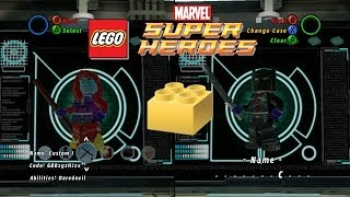 getlinkyoutube.com-LEGO: Marvel Super Heroes - Customizing Characters & Unlocking Gold Bricks - Part 3