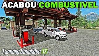 getlinkyoutube.com-Farming Simulator 17 - Pane No Motor Acabou o Combustivel