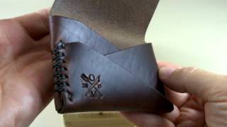 Gundeck Wallet - Offene Meer Leather Company