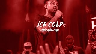 "getlinkyoutube.com-FREE 21 Savage Type Beat/Instrumental 2017 ""ICE COLD"" (Prod CJ Beatz x Manix92)"
