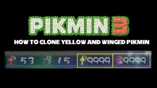getlinkyoutube.com-Pikmin 3 MAJOR GLITCH: How to clone Yellow/Winged Pikmin to 9999 (requires Yellow Onion Skip)