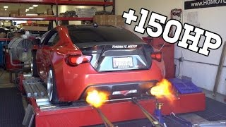 Making a 400HP+ BRZ AND SHOOTS FLAMES