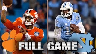 getlinkyoutube.com-Clemson vs. North Carolina: Full Game | 2015 ACC Football Championship