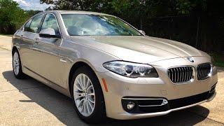 getlinkyoutube.com-2015 BMW 528i Luxury Line Full Review, Start Up, Exhaust
