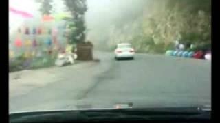 getlinkyoutube.com-Nathiagali to Murree Drive (HOW'S ROMANTIC WEATHER OF FOG).flv