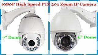 getlinkyoutube.com-1080P HD High Speed PTZ 20x Zoom IP Camera Outdoor Shooting Effect (SKU:IPA1513Q/IPA1537X)