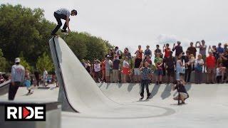 getlinkyoutube.com-Tony Hawk Celebrates Burlington's A-Dog Skatepark With Surprise Visit