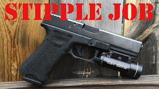 getlinkyoutube.com-How To Stipple A Glock - Part Two Of Building The Ultimate Concealed Carry Handgun