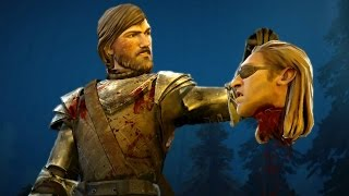 getlinkyoutube.com-Rodrik Kills Gryff (Game of Thrones | Telltale | Episode 6 Death Decapitation)