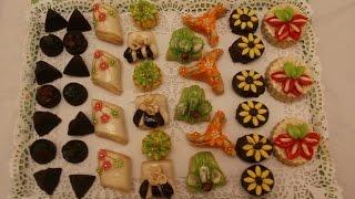 حلويات اللوز باشكال مختلفة 1 مع طبخ ليلى    gateaux aux amandes