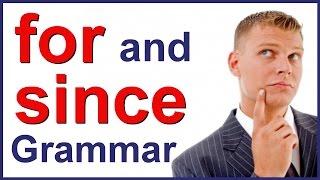 getlinkyoutube.com-FOR and SINCE   English grammar class