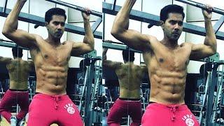 Varun Dhawan's Bodybuilding Gym Workout Video