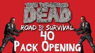 getlinkyoutube.com-BEST PULL EVER!! 40 Pack Opening. (The Walking Dead: Road to Survival)