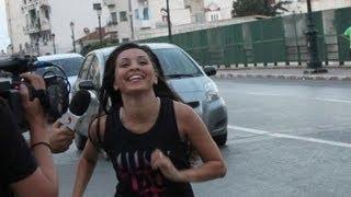 "getlinkyoutube.com-Challenge #02 ""We Run Algiers 2013 "" avec Amel Zen et Farida Ait Kaci sur Dzair TV"