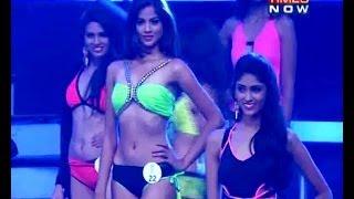 getlinkyoutube.com-fbb Femina Miss India 2014 - Swimsuit Competition (Bikini Round)
