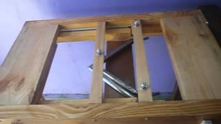 getlinkyoutube.com-Стол для распечатки сотовых рамок