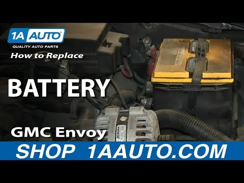 How To Replace Dead Battery 02-09 GMC Envoy XL