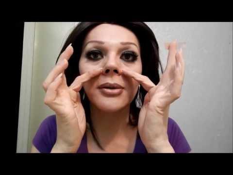 bency como hacerse una  nariz bonita con cinta microporo