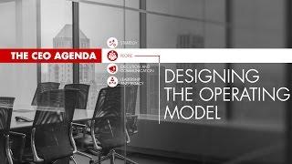 Designing Operating Model