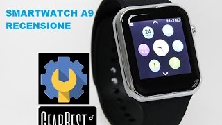 getlinkyoutube.com-Smartwatch A9 recensione