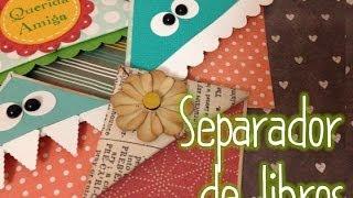 getlinkyoutube.com-TUTORIAL Cómo hacer un separador de libros Original Origami/Origami Bookmark