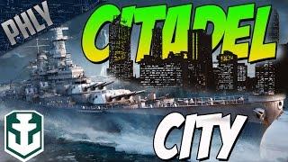 getlinkyoutube.com-CITADEL CITY - World Of Warships - IOWA BATTLESHIP GAMEPLAY!