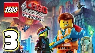 LEGO Movie Videogame Walkthrough PART 3 [PS3] Lets Play Gameplay TRUE-HD QUALITY