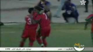 Mustapha Hadji مصطفى حجي والهدف التاريخي مع مصر