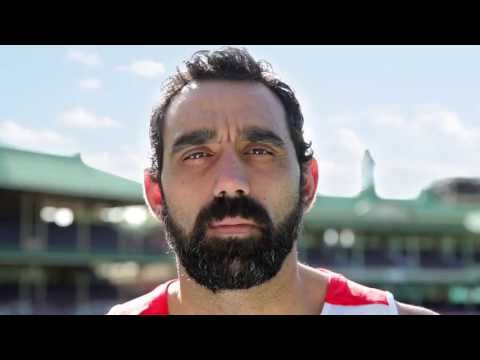 Racism. It Stops With Me. TV spot.  Feat. Adam Goodes