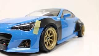 getlinkyoutube.com-eac RC Body Build Subaru BRZ with Rocket Bunny Ver.1 Kit