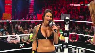 getlinkyoutube.com-WWE RAW [23.07.2012]: Lita vs. Heath Slater. APA Return