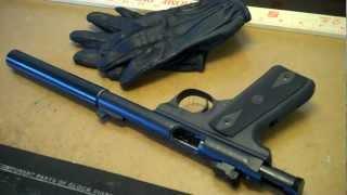 Suppressed Ruger 22/45