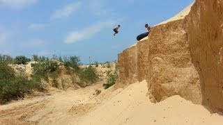 getlinkyoutube.com-Awesome !! The Best 3run gaza parkour (2013-2014)