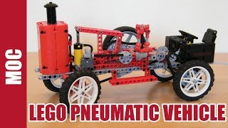 Lego Technic - Pneumatic Vehicle by Nico71
