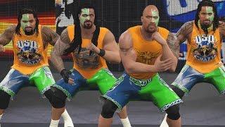 getlinkyoutube.com-WWE 2K16 Mods - The Rock Joins the Usos