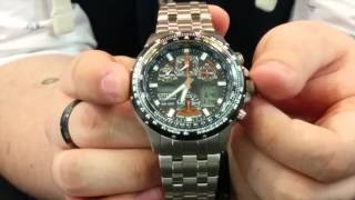 getlinkyoutube.com-WATCH IT! - How To Set The Citizen Eco-Drive SkyHawk Watch