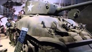 getlinkyoutube.com-Normandie D Day 2015 Bunker  Omaha Utah Gold Beach Sherman