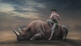 getlinkyoutube.com-Photoshop Tutorial | Fantasy Photo Manipulation Rhino