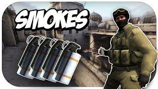 getlinkyoutube.com-CSGO - De_Dust 2 Smokes!