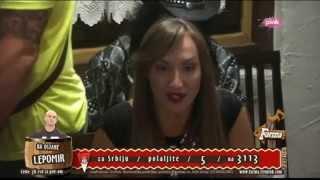 getlinkyoutube.com-Goga Sekulic i Tamara - Igra istine - Farma 6 - (TV Pink 2015)