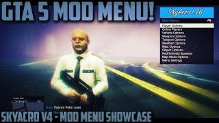 "GTA 5 Online - SkyAcro v4 (1.26 Mod Menu) Showcase! Crazy ""GTA 5 Mods"" 1.26 - (GTA 5 Online)"