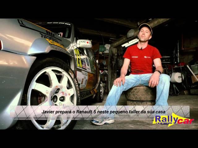 Javier Martínez Carracedo e o seu R5 GT turbo